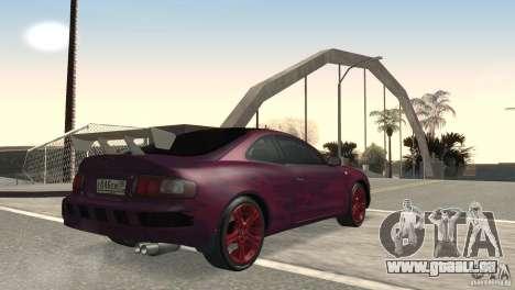 Toyota Celica pour GTA San Andreas vue de droite