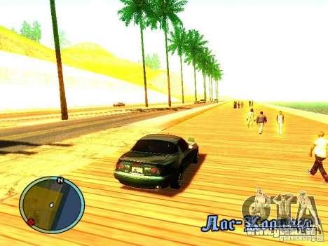 Mazda Miata 1994 für GTA San Andreas rechten Ansicht