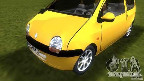 Renault Twingo für GTA Vice City zurück linke Ansicht