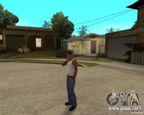 Nokia N97 pour GTA San Andreas deuxième écran