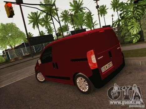 Peugeot Bipper pour GTA San Andreas laissé vue