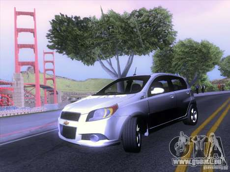 Chevrolet Aveo LT für GTA San Andreas linke Ansicht