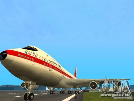 Boeing 747-100 pour GTA San Andreas