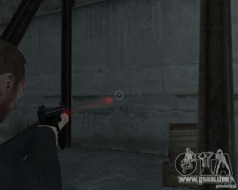 Flashlight for Weapons v 2.0 pour GTA 4 troisième écran