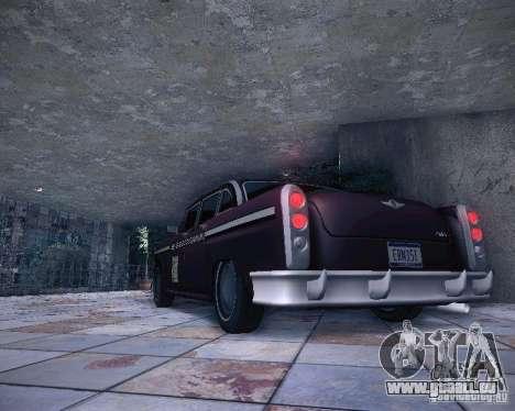 Diablo Cabbie HD für GTA San Andreas Motor