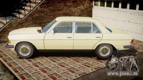 Mercedes-Benz 230E 1976 pour GTA 4 est une gauche