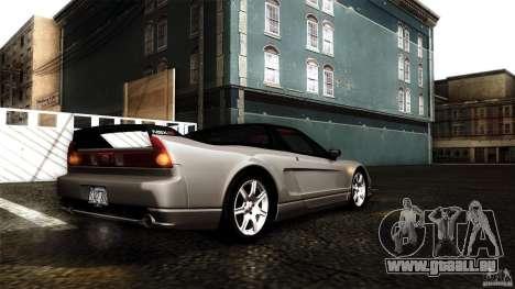 Honda NSX-R 2005 pour GTA San Andreas salon