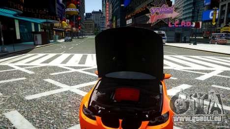 BMW M3 GT-S für GTA 4 Innenansicht