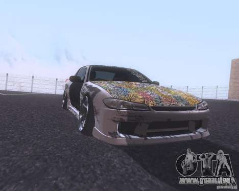 Nissan Silvia S15 Street pour GTA San Andreas laissé vue