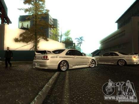 Nissan Skyline Nismo 400R pour GTA San Andreas vue de droite