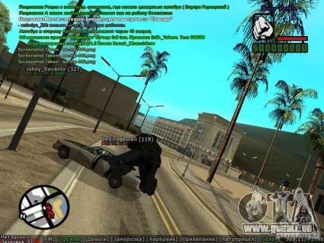m0d S0beit 4.3.0.0 Full rus für GTA San Andreas zweiten Screenshot