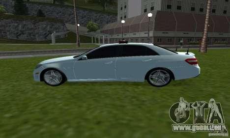 Mercedes-Benz E63 DPS für GTA San Andreas linke Ansicht