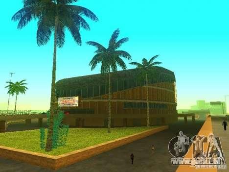 Le nouveau bâtiment du VG pour GTA San Andreas troisième écran