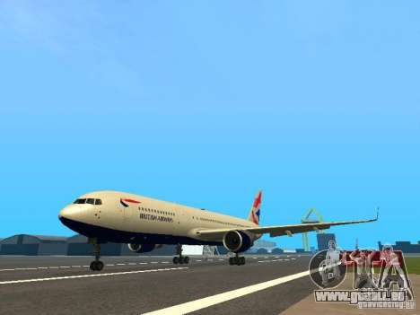 Boeing 767-300 British Airways pour GTA San Andreas