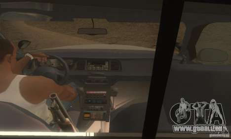 Ford Crown Victoria Louisiana Police für GTA San Andreas zurück linke Ansicht