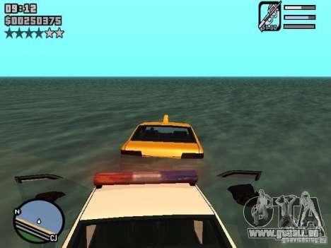 HUD by Neo40131 pour GTA San Andreas troisième écran