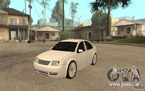 Volkswagen Bora PepeUz Edition pour GTA San Andreas
