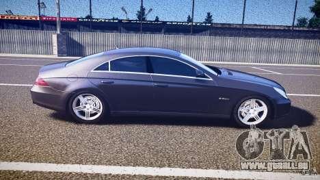 Mercedes-Benz CLS 63 für GTA 4 Seitenansicht