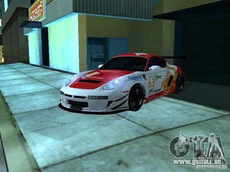 Porsche Cayman S NFS Shift für GTA San Andreas Innenansicht