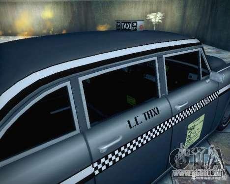 Diablo Cabbie HD für GTA San Andreas Rückansicht