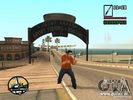 Speer für GTA San Andreas fünften Screenshot