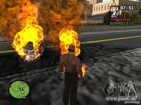 Molotov-Cosaques pour GTA San Andreas quatrième écran