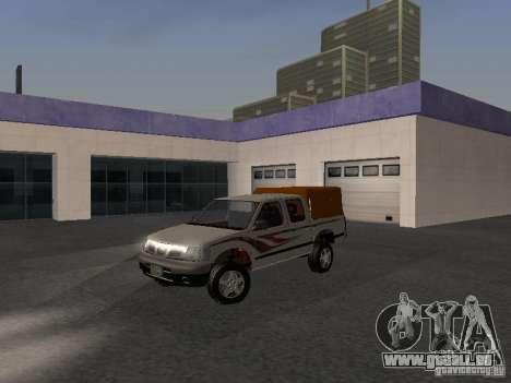 Nissan Pickup für GTA San Andreas Rückansicht