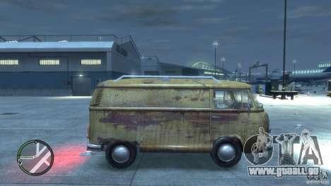VW Transporter T2 pour GTA 4 est un droit