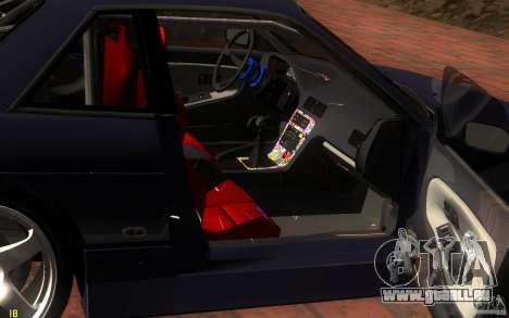 Nissan Silvia S13 Onevia für GTA San Andreas obere Ansicht