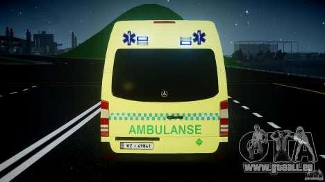 Mercedes-Benz Sprinter PK731 Ambulance [ELS] für GTA 4 Räder