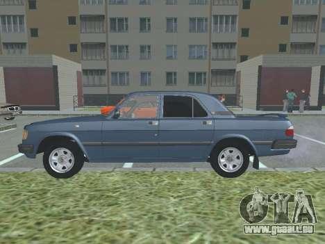 GAZ Volga 3110 v1.0 pour GTA San Andreas laissé vue