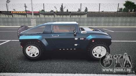 Hummer HX für GTA 4 Innenansicht