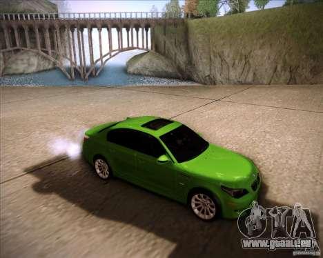 BMW M5 2009 für GTA San Andreas linke Ansicht