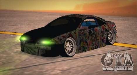 Mitsubishi Eclipse 1997 Drift pour GTA San Andreas vue de droite