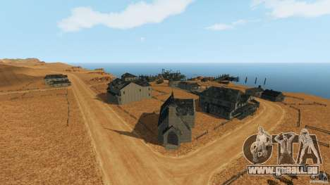 Red Dead Desert 2012 für GTA 4 Sekunden Bildschirm