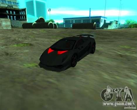 Lamborghini Sesto Elemento 2011 für GTA San Andreas linke Ansicht