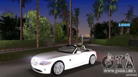 BMW Z4 2004 pour GTA Vice City
