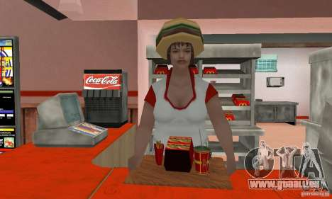 Restaurants McDonals für GTA San Andreas sechsten Screenshot