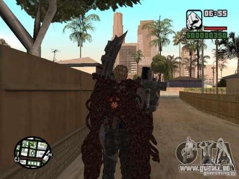 Wesker Ouroboros für GTA San Andreas dritten Screenshot