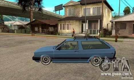 VW Fox 1989 v.2.0 für GTA San Andreas linke Ansicht
