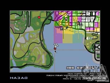 Insel-Villa für GTA San Andreas neunten Screenshot