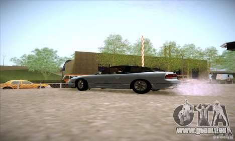 Nissan 240SX 1990 pour GTA San Andreas laissé vue