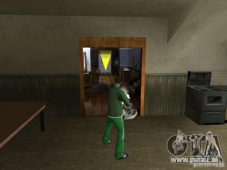 Armes de CLEO pour GTA San Andreas cinquième écran