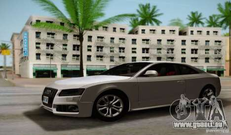 Audi S5 pour GTA San Andreas laissé vue