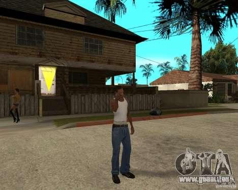 Nokia N97 pour GTA San Andreas troisième écran