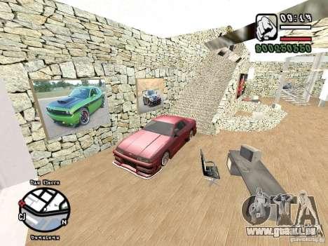 Dodge Salon pour GTA San Andreas quatrième écran
