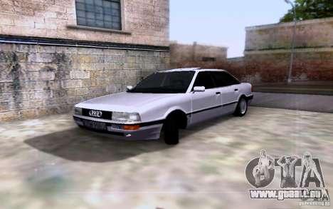 Audi 90 Quattro pour GTA San Andreas vue arrière
