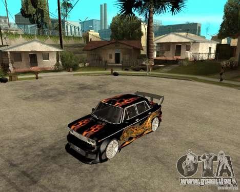 VAZ 2106 GTX-Melodie für GTA San Andreas linke Ansicht