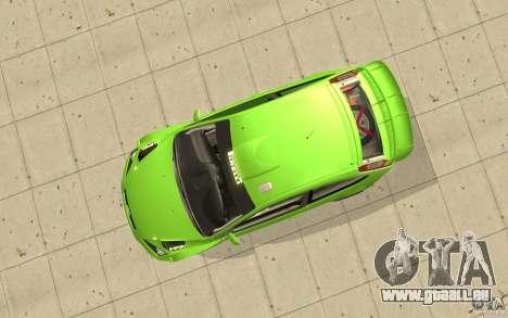 Ford Focus RS WRC 08 pour GTA San Andreas vue de droite