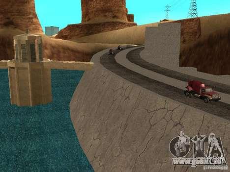 Neue Texturen für Talsperren für GTA San Andreas dritten Screenshot